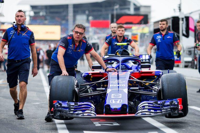 F1   ホンダ田辺TD、2台Q1敗退に落胆「天候を言い訳にはできない。早急にパッケージ全体の改善を図る必要がある」:F1ドイツGP土曜