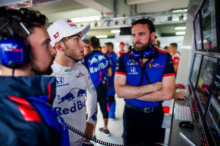 F1 | ガスリー「Q1落ちは覚悟していた。ライバルたちは進歩し、僕らは取り残されている」:トロロッソ・ホンダ F1ドイツGP土曜