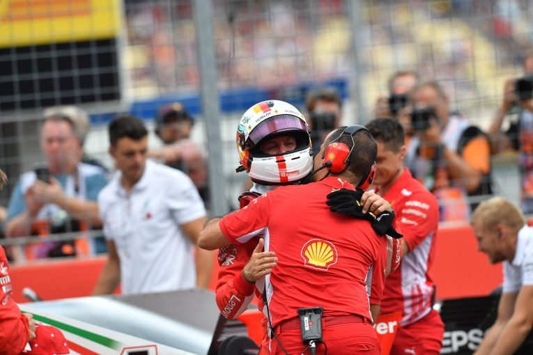 F1 | ポールのベッテル「ハミルトンのことは気の毒に思うが、今は自分が勝つことに集中している」:F1ドイツGP土曜