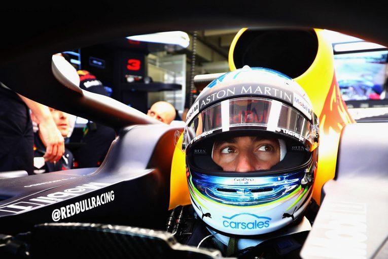 F1 | リカルド「ハミルトンと一緒に後方スタートなんて楽しすぎる。ふたりでオーバーテイクショーを披露するよ」:F1ドイツGP土曜