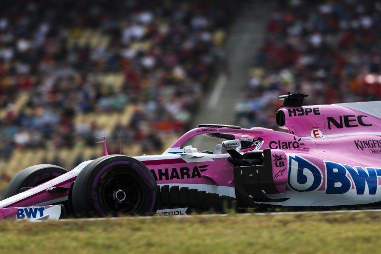 F1   ペレス「難しい予選で10番手を獲得できて満足。決勝ではさらに上を狙う」:F1ドイツGP土曜