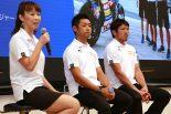 KYB MORIWAKI MOTUL RACINGから森脇緑チームマネージャー、高橋裕紀、清成龍一の3名が登場