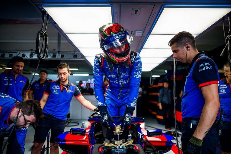 F1   ハートレー「耐久での経験を活用し、難コンディションのレースでポイントを獲得した」:トロロッソ・ホンダ F1ドイツGP日曜