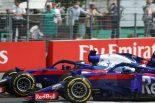 F1 | トロロッソ・ホンダ密着:ガスリーはギャンブル失敗も、ハートレーが貴重な1ポイントを獲得/F1ドイツGP決勝