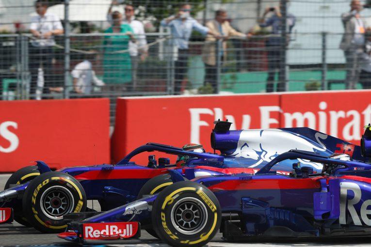F1   トロロッソ・ホンダ密着:ガスリーはギャンブル失敗も、ハートレーが貴重な1ポイントを獲得/F1ドイツGP決勝