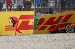 F1 | ベッテル、クラッシュで優勝失う「チームに謝罪する。小さなミスが重大な結果に」:F1ドイツGP日曜