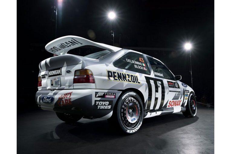 ラリー/WRC | 【動画】アメリカ国内ラリーに参戦したケン・ブロックがフォード・エスコート全焼のクラッシュ