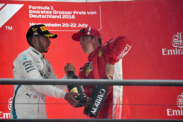 F1 | 3位のライコネン「チームの戦略に不満はない」:F1ドイツGP日曜