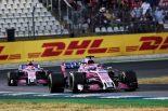 F1 | フォース・インディア、「クレージーなレース」を正しい戦略で戦い、ダブル入賞:F1ドイツGP日曜