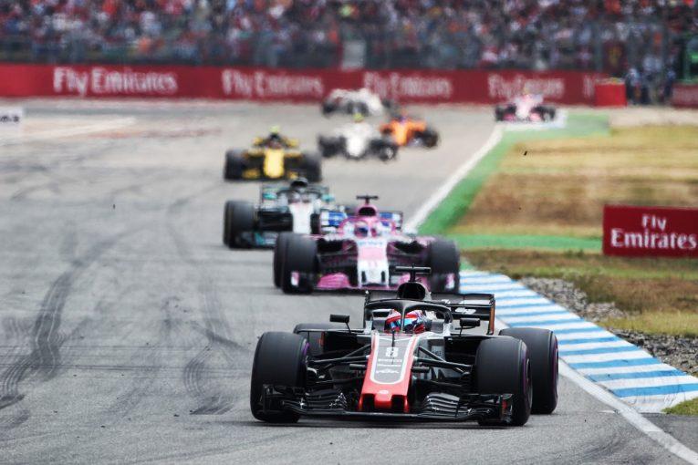 F1 | グロージャン「終盤にオーバーテイクを繰り返して6位。最高に楽しかった」:F1ドイツGP日曜