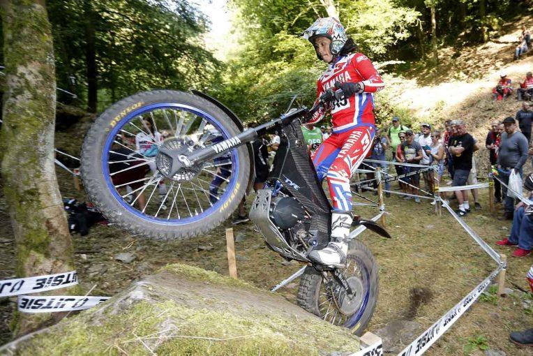 MotoGP   ヤマハの電動トライアルマシンTY-Eで黒山健一が世界選手権ランキング2位獲得