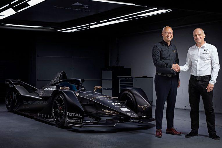 海外レース他   フォーミュラE:DSオートモービル、第5シーズンからテチーターと提携。ヴァージンと袂分かつ