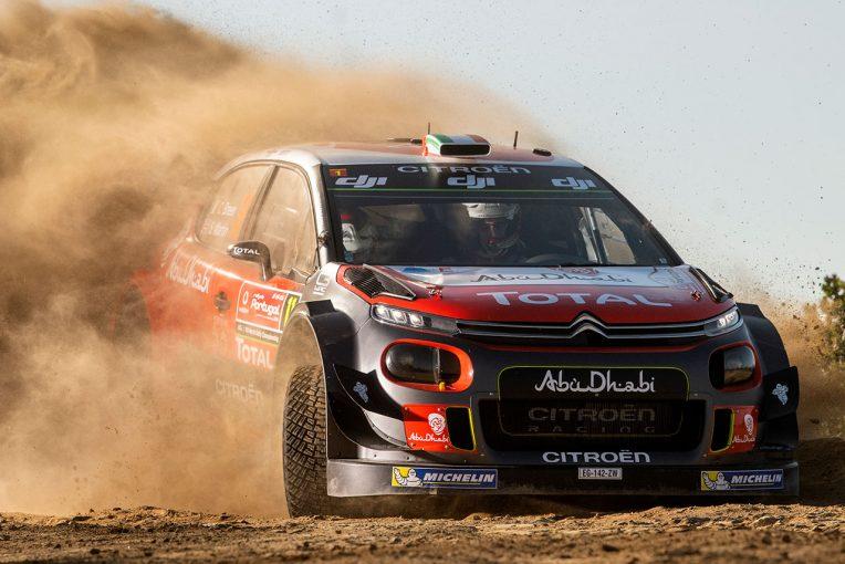 ラリー/WRC   WRC:シトロエン、ラリー・フィンランドでマシン改良。フロントアクスルジオメトリーを見直す