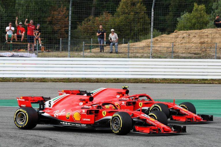 F1 | 【F1ドイツGP無線レビュー】フェラーリの戦略にいら立つベッテル「馬鹿げているよ、タイムロスしている」
