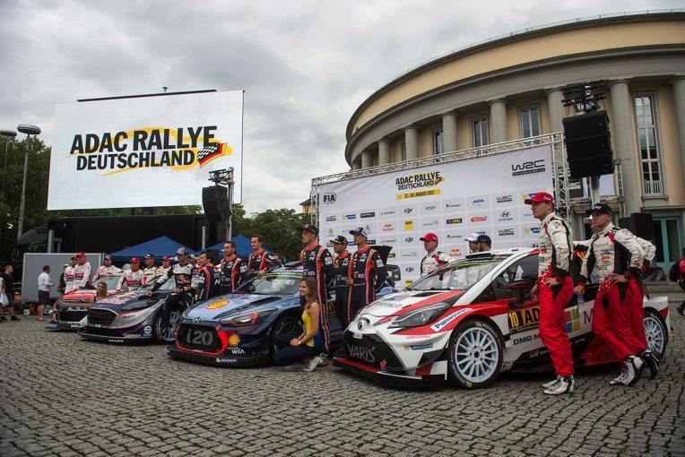 ラリー/WRC   旭化成がWRCオフィシャルパートナー就任。第9戦ドイツ、第11戦イギリスでコーポレートロゴ掲出