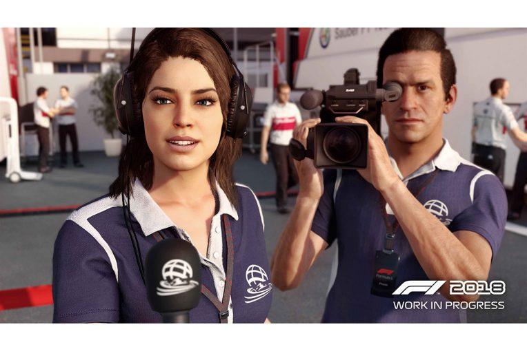 F1 | F1公式ゲーム『F1 2018』はプレイヤーの受け答えもキャリアに影響。開発者トレーラー第1弾公開