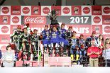 2017鈴鹿8耐 表彰式