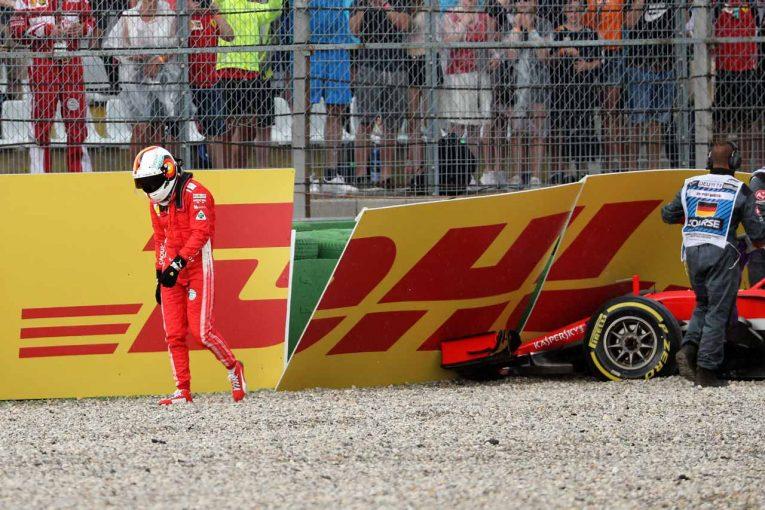F1 | ベッテルのクラッシュをイタリアメディアが「壊滅的ミス」と酷評