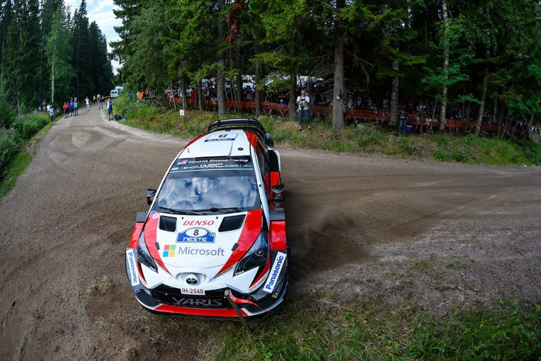 ラリー/WRC | 【順位結果】2018WRC第8戦フィンランド SS1後