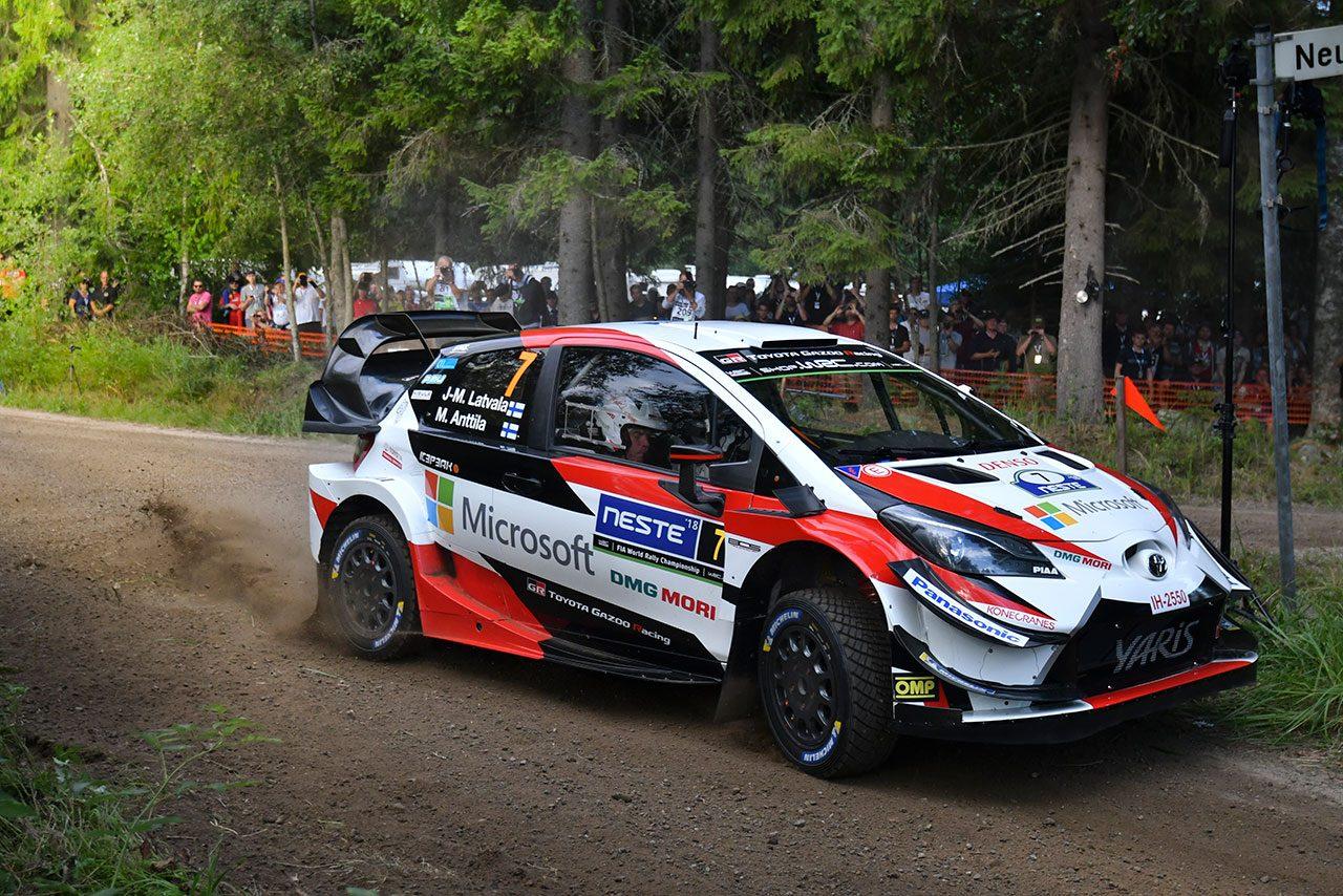 WRCフィンランド:シリーズ最速の戦いが開幕。SS1でトヨタのタナクが総合首位