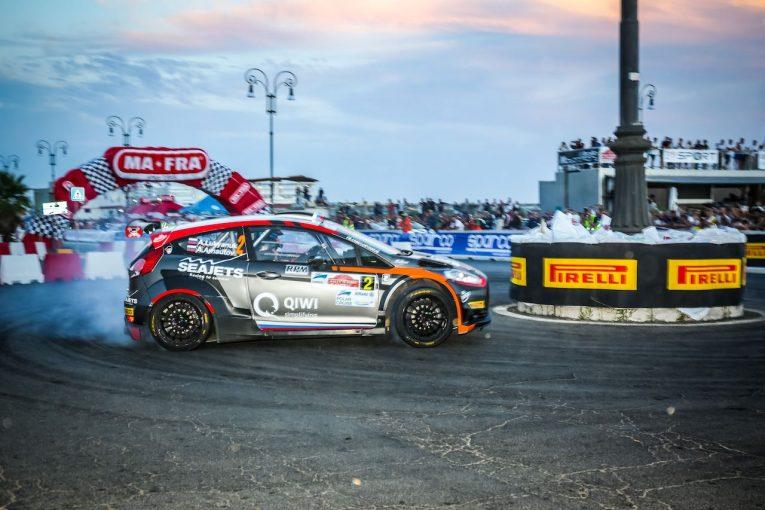ラリー/WRC   ERC:第5戦ローマはイタリア人ドライバーに不運相次ぐ。好調ルキヤナクが3勝目