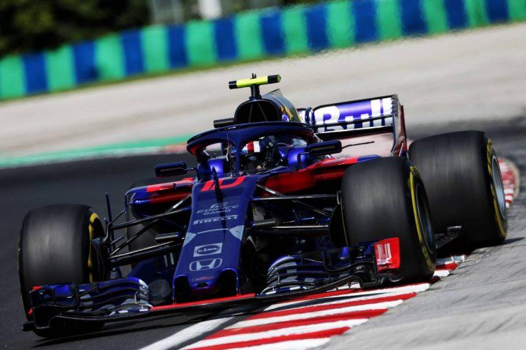 F1 | 【タイム結果】F1第12戦ハンガリーGP フリー走行1回目