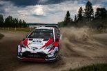 ラリー/WRC | WRCフィンランド:2日目はトヨタのタナクがポジションキープも、シトロエンが猛追