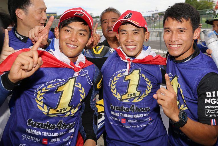 MotoGP | 鈴鹿4耐決勝:ヤマハのタイチームが連覇を達成。変わる路面、SC3回導入のなか独走