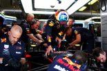 F1   旧型エンジンに戻したリカルド「フロントロウを目指してプッシュしていく」:F1ハンガリーGP金曜