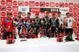 鈴鹿8耐のTOP10チームによる計時予選トップ3を獲得したチーム