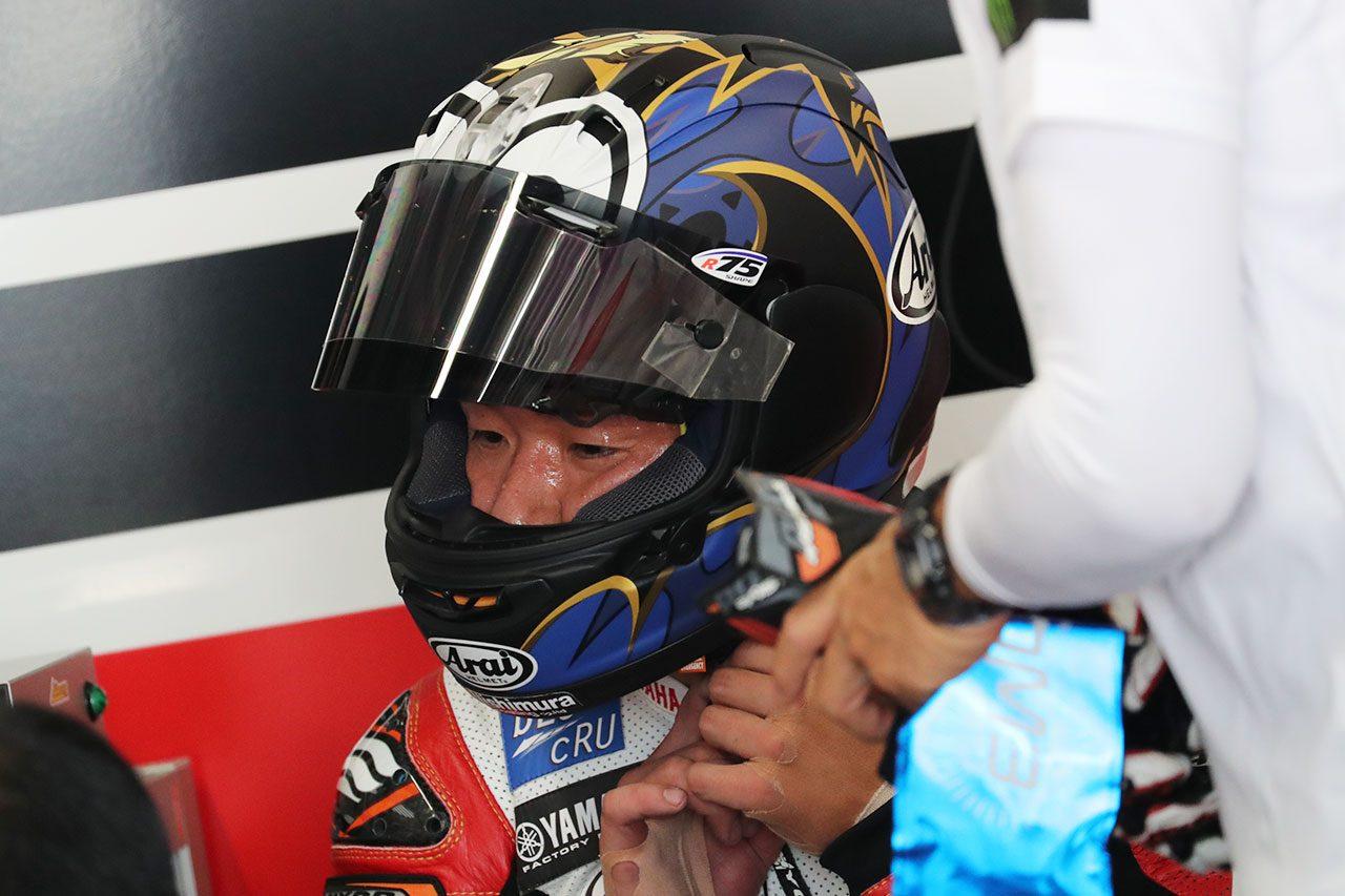 鈴鹿8耐3日目フリー走行で転倒の中須賀、計時予選に出走せず。吉川監督「作戦を組み直す必要がある」