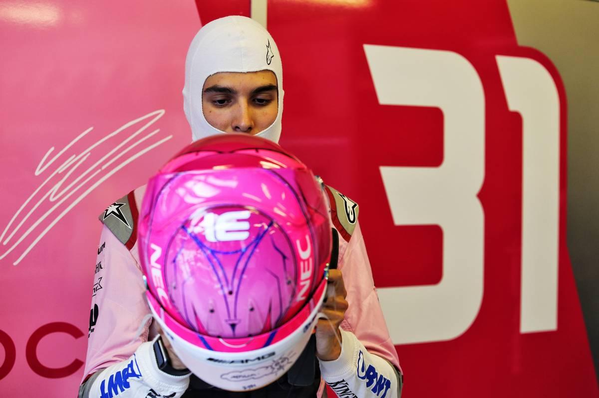 2018年F1ハンガリーGP エステバン・オコン フォース・インディア