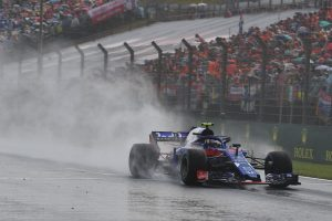 2018年F1第12戦ハンガリーGP予選Q3に進出したピエール・ガスリー
