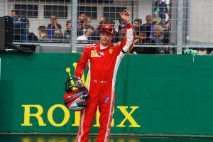 2018年F1第12戦ハンガリーGP予選3番手となったキミ・ライコネン