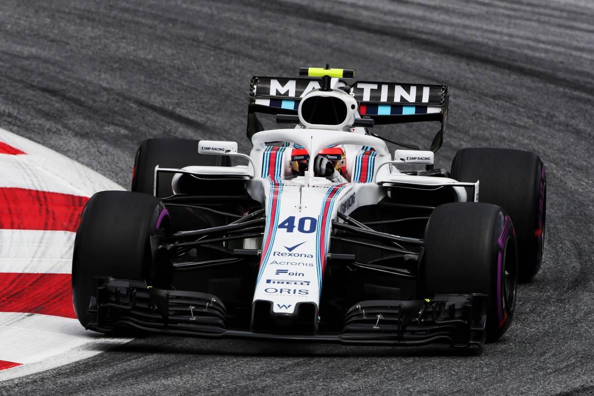 2018年F1オーストリアGPでフリー走行を担当したウイリアムズの開発・リザーブドライバー ロバート・クビカ