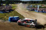 ラリー/WRC | 【順位結果】2018WRC第8戦フィンランド SS19後