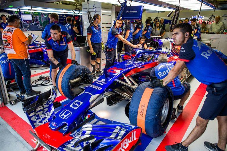 F1 | トロロッソ「6番手と8番手というのは思いもしない好結果。タイヤ戦略もピット作業も完璧だった」:F1ハンガリーGP土曜