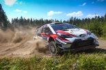ラリー/WRC | WRCフィンランド:トヨタ、3日目の全ステージで最速タイム。タナクが今季2勝目に王手