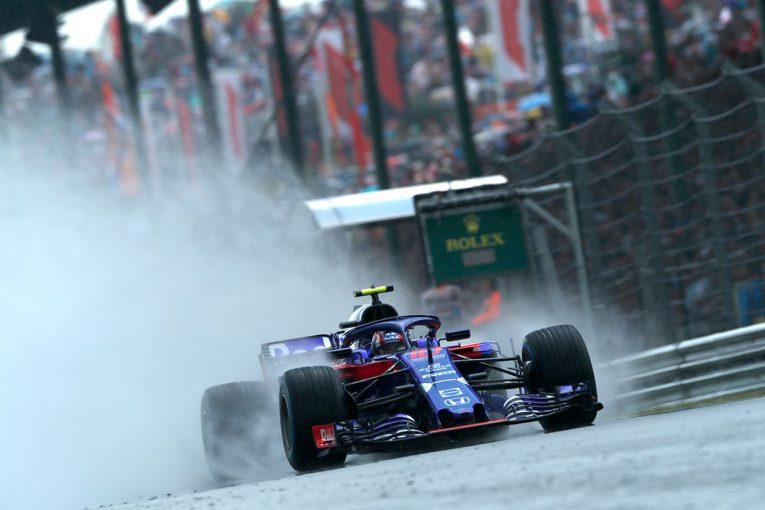 F1 | トロロッソ・ホンダF1密着:雨を味方につけ、マクラーレン・ホンダ時代を超える予選結果を獲得