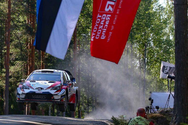 ラリー/WRC | WRC:トヨタ、ホームのフィンランド戦連覇。タナク優勝、ラトバラ3位、ラッピはクラッシュ