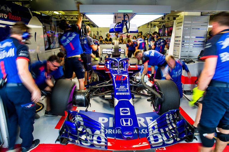 F1   F1 Topic:雨のハンガロリンク予選で発揮したホンダPUのドライバビリティ