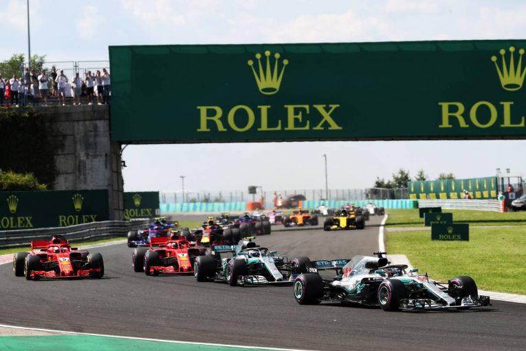 F1 | 【順位結果】F1第12戦ハンガリーGP決勝