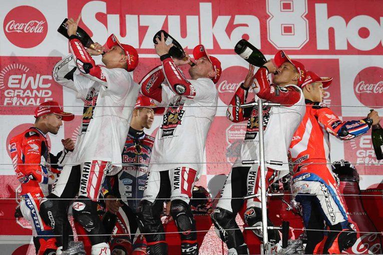 MotoGP | 決勝に出走しない中須賀を「チームだから大丈夫」と励ましたロウズ/ヤマハファクトリー鈴鹿8耐優勝会見