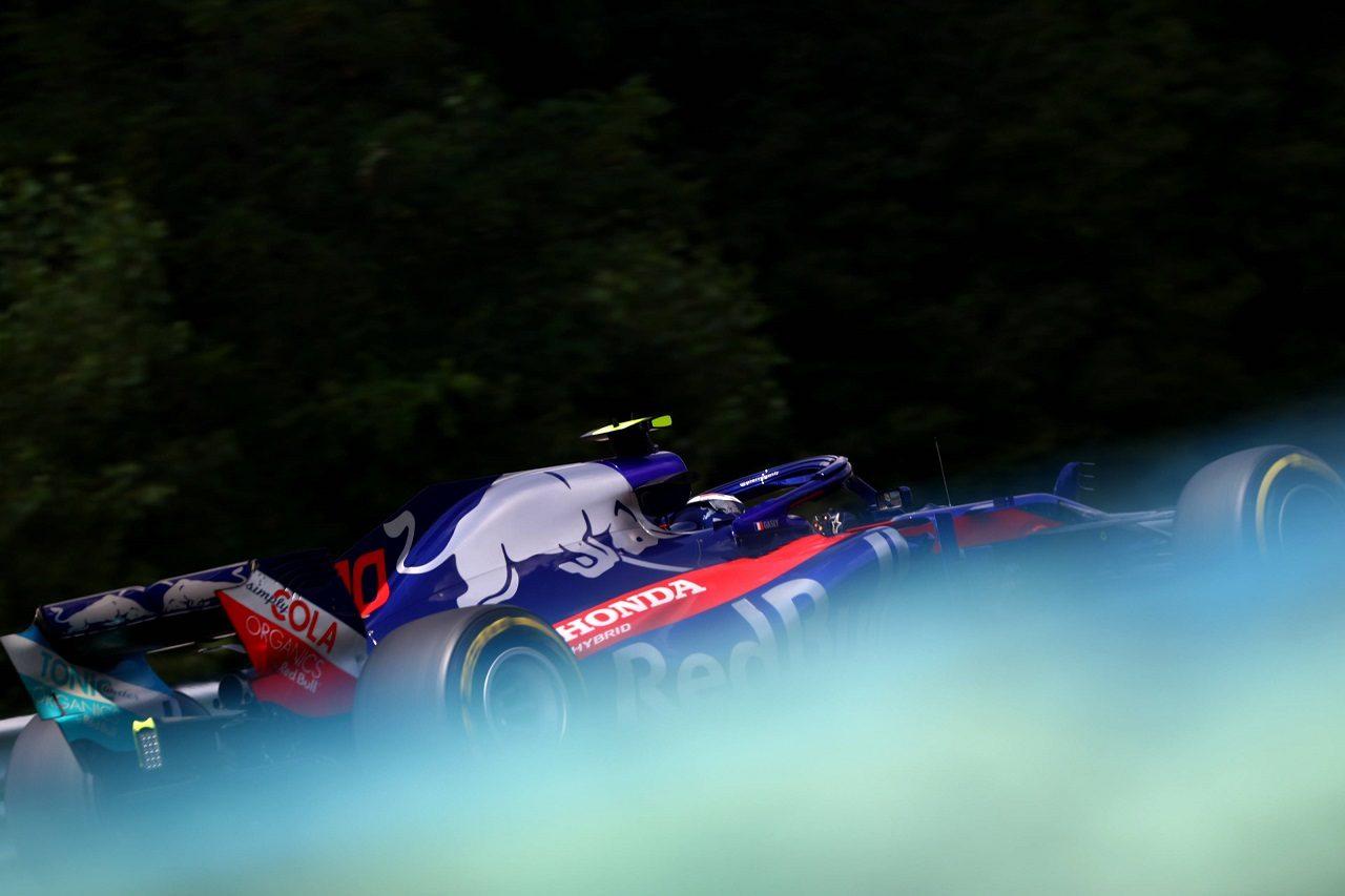 2018年F1第12戦ハンガリーGP ピエール・ガスリー(トロロッソ・ホンダ)