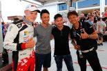 TOYOTA GAZOO RacingからWEC世界耐久選手権に参戦中の中嶋一貴と小林可夢偉、アンバサダーを務める脇阪寿一も現地でラリーを見守った