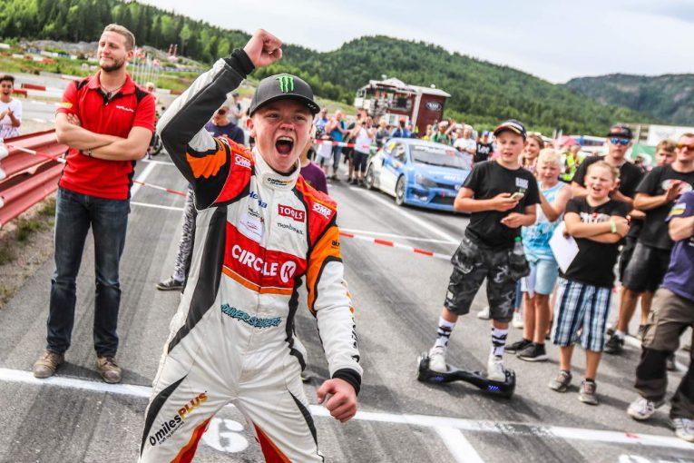 ラリー/WRC | 世界ラリークロス:ペター・ソルベルグの長男、16歳のオリバーが世界選手権初挑戦へ