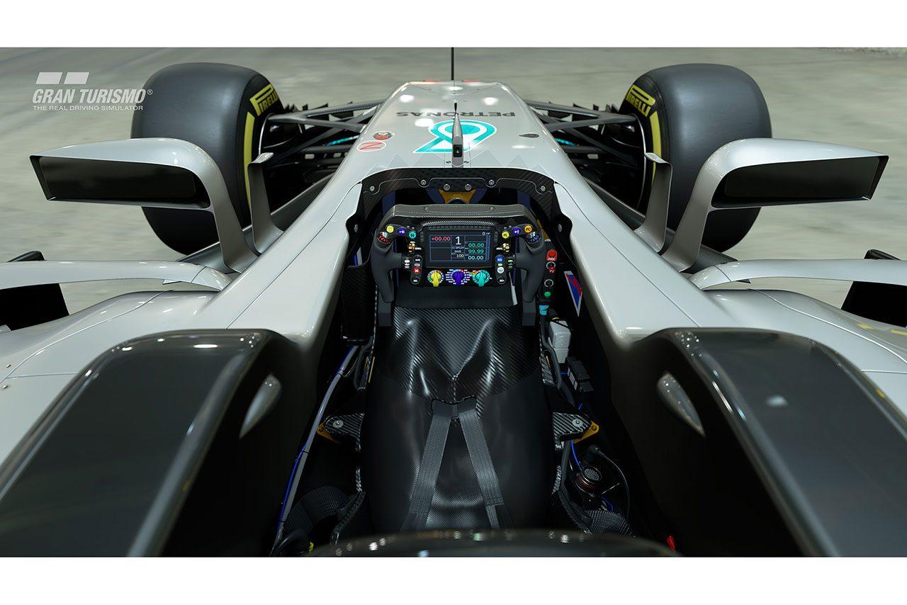 PS4用ソフト『グランツーリスモSPORT』にメルセデスの2017年F1マシン、マツダ787Bなどが登場