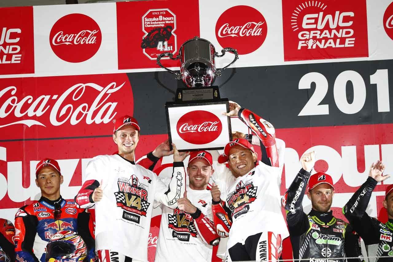 ヤマハ EWC最終戦 鈴鹿8時間耐久ロードレース 決勝レポート