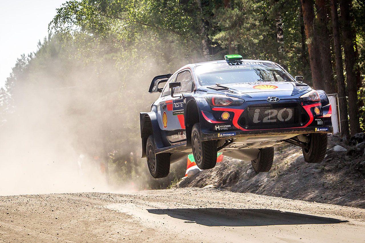 ラトバラ、開幕戦以来の表彰台獲得で「自信がついた」/WRC第8戦フィンランド 最終日コメント