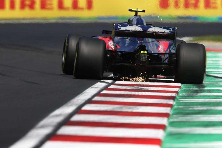 F1   ブダペストで実施の第2回F1インシーズンテスト、トロロッソ・ホンダが2019年タイヤを装着へ